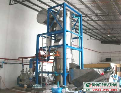 Máy đá viên tinh khiết công nghiệp 10 tấn